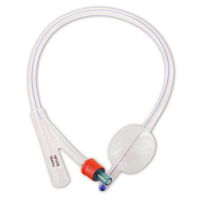 维力 一次性使用无菌硅胶导尿管 双腔标准型14号