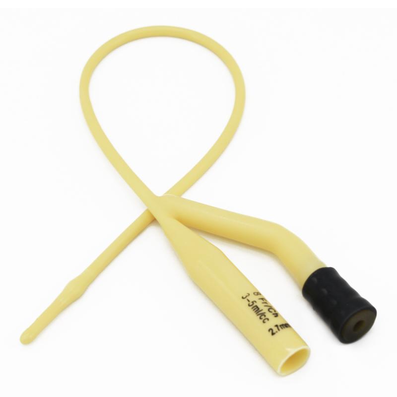 维力 一次性使用乳胶导尿管 双腔儿童型8号