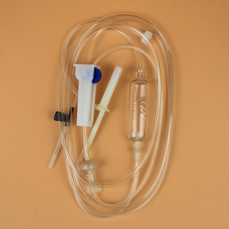 洪达一次性输液器带针头医用无菌静脉输液针配5.5号针头25套