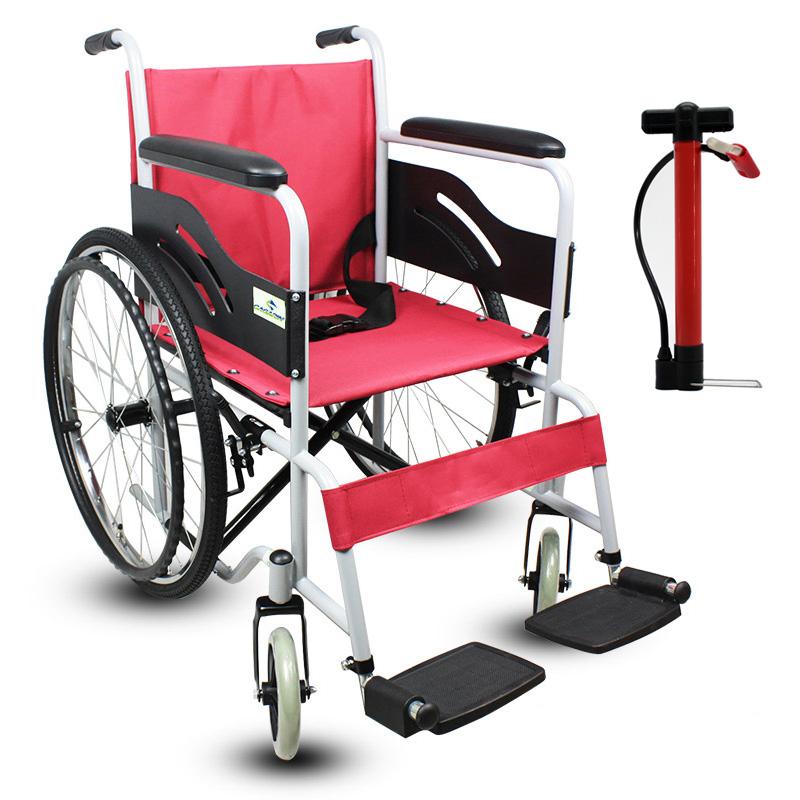加加林手动轮椅车加宽便携轮椅代步RCG01