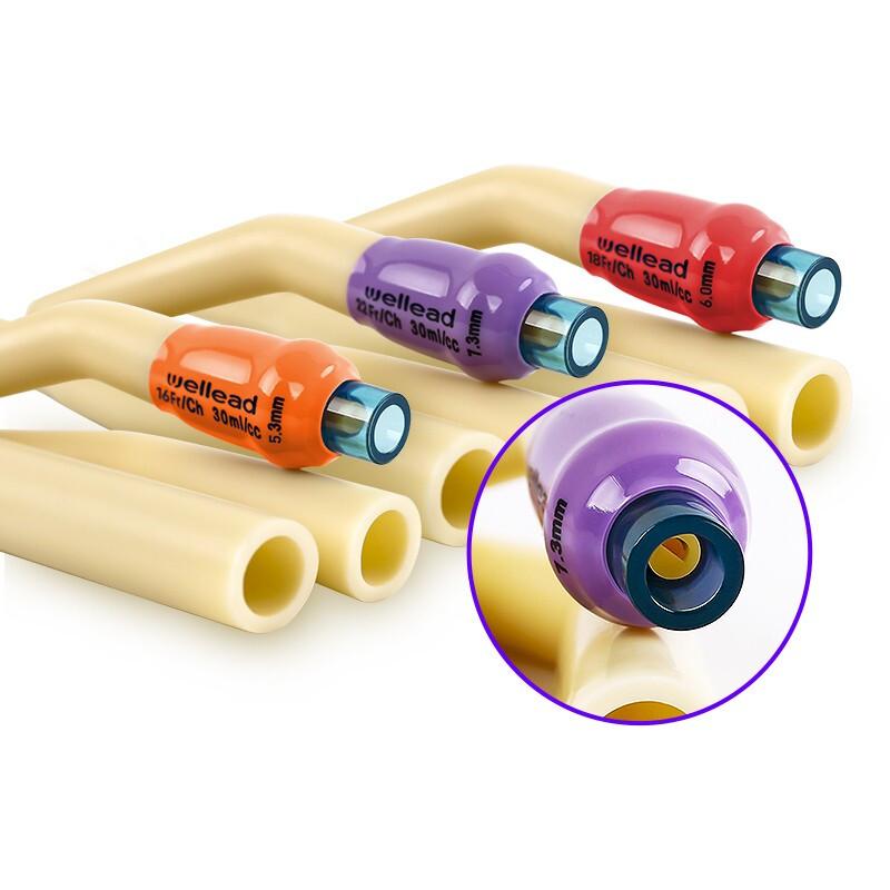 维力 一次性使用乳胶导尿管 三腔标准型16号 1根