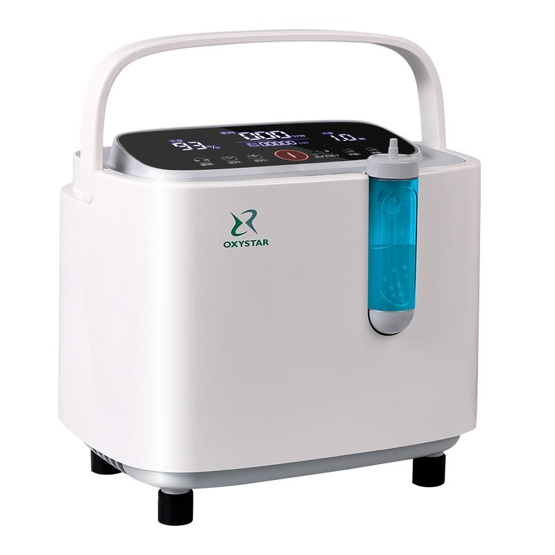 氧之星小型分子筛制氧机医用家用吸氧1L(不带雾化)