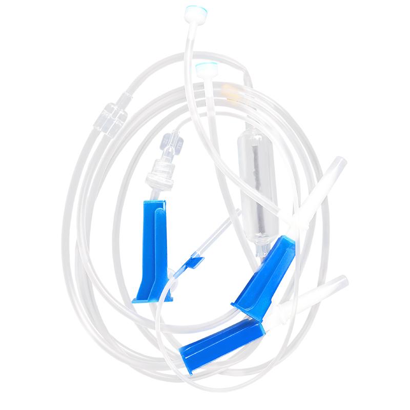 康利来一次性使用输液器医用注射(双插) 带6号针头