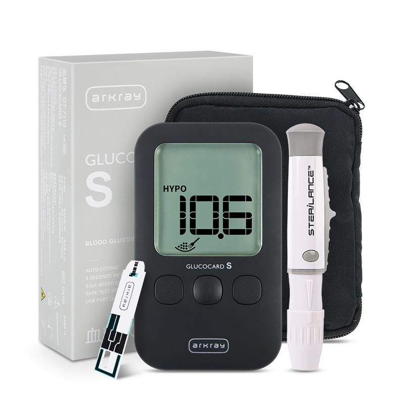 艾科来京都 免调码血糖仪GT-7110型(赠50片试纸)