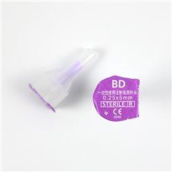BD优锐 一次性胰岛素注射笔针头0.25mm(31G)*5mm 7支装 胰岛素针头