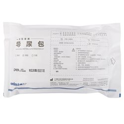 维力一次性使用导尿包 硅胶双腔22Fr