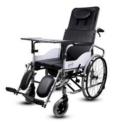 互邦轮椅车HBG6-BFQ全躺 实心胎