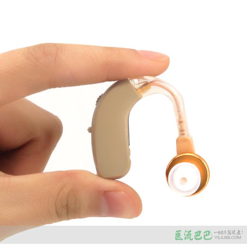 宝尔通耳背式助听器小巧老年人耳聋耳背F-136型